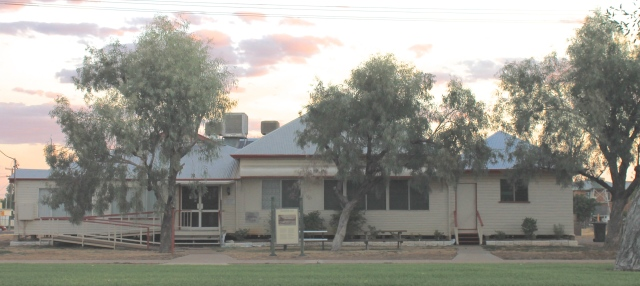 And this is the old Winton Club where the plan was put into action.